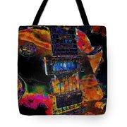 The Player - Guitar Art Tote Bag