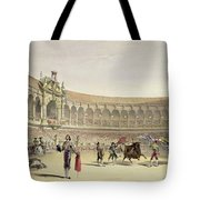 The Plaza Of Seville, 1865 Tote Bag