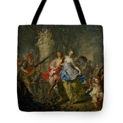The Pleasures Of The Seasons     Spring Tote Bag by Johann Georg Platzer