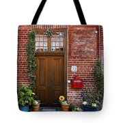 The Plumber's Home Tote Bag