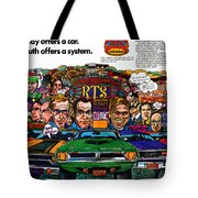 The Plymouth Rapid Transit System Tote Bag