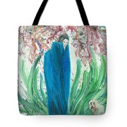 The Poet And The Dog Tote Bag