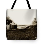The Point Pinos Lighthouse Pacific Grove California Circa 1895 Tote Bag