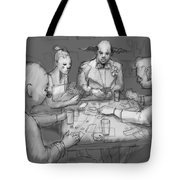 The Poker Game Tote Bag