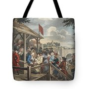 The Polling, Illustration From Hogarth Tote Bag