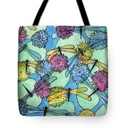 The Pond - An Aerial View Tote Bag