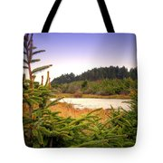 The Pond In The Forest Tote Bag