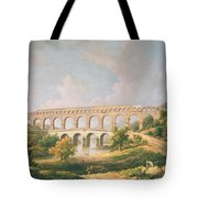The Pont Du Gard, Nimes Tote Bag