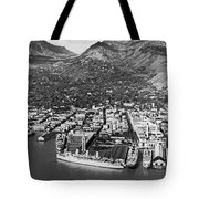 The Port Of Honolulu Tote Bag