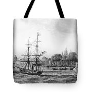 The Port Of New Orleans Tote Bag
