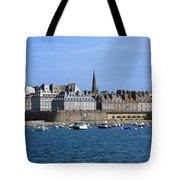 The Port Of St Malo France Tote Bag