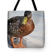 The Posing Duck Tote Bag