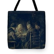 The Potato Eaters, 1902 Tote Bag