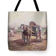 The Potato Pickers Tote Bag by Harry Fidler