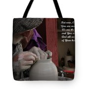 The Potter's Hand Tote Bag