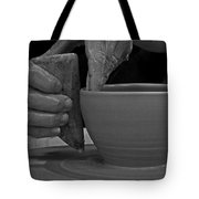 The Potter's Hands Tote Bag