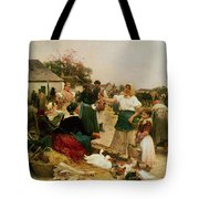 The Poultry Market Tote Bag