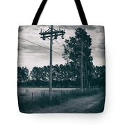 The Power Lines  Tote Bag