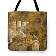 The Praying Cylinders Of Thibet Tote Bag