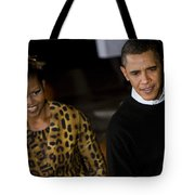 The President And First Lady Tote Bag