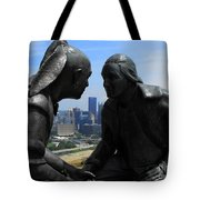 The President And The Chief Tote Bag