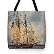 The Pride Of Baltimore II Tote Bag