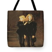 The Princes Edward And Richard Tote Bag by Sir John Everett Millais