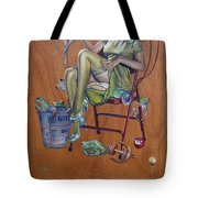 The Princess And The Frogs Tote Bag by Patrick Anthony Pierson