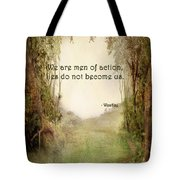 The Princess Bride - Men Of Action Tote Bag