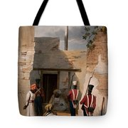 The Prison Of Hadjee Khan Kakus - Tote Bag