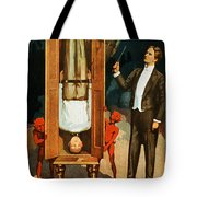 The Prisoner Of Canton Tote Bag by Jennifer Rondinelli Reilly - Fine Art Photography