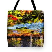 The Private Little Pond Tote Bag