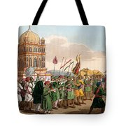 The Procession Of The Taziya, From The Tote Bag