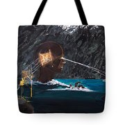 The Projection Of Thought And Mind On Reality Tote Bag