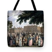 The Promenade In St James Park, C.1796 Tote Bag