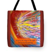 The Prophetic Song Tote Bag