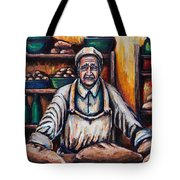 The Proud Baker Tote Bag by Kevin Richard