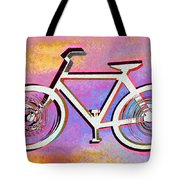The Psychedelic Bicycle Tote Bag