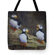The Puffin Report Tote Bag