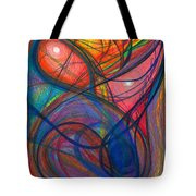 The Pulse Of The Heart Lies Strong Tote Bag by Daina White