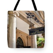 The Pump Room Tote Bag