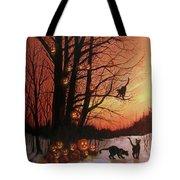 The Pumpkin Tree Tote Bag by Tom Shropshire