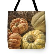The Pumpkins Of Autumn Tote Bag