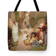 The Puppet Show Tote Bag