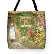The Puppy Tote Bag