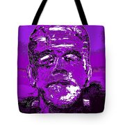 The Purple Monster Tote Bag