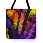 The Purple Tree Tote Bag