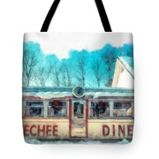 The Quechee Diner Vermont Tote Bag