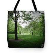 The Quiet Park Tote Bag