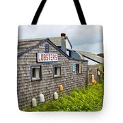 The Quintessential Lobster Experience Tote Bag by Michelle Wiarda